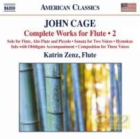Cage: Complete Works for Flute Vol. 2