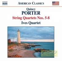 PorterPorter, Quincy: String Quartets Nos. 5 - 8