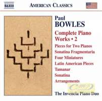 Bowles: Complete Piano Works Vol. 2