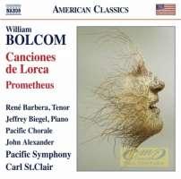 Bolcom: Canciones de Lorca; Prometheus