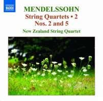 Mendelssohn: String Quartets Vol. 2 - Nos. 2 & 5