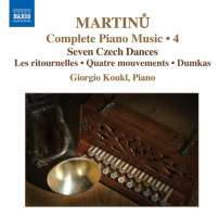 MARTINU: Piano Music (Complete) Vol. 4