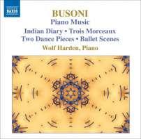 Busoni Ferruccio - Piano Music - Indian Diary