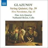 GLAZUNOV: String Quintet Op. 39