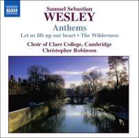 WESLEY Samuel Sebastian - Anthems