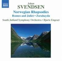 SVENDSEN: Norwegian Rhapsodies Nos. 1-4, Romeo and Juliet, Zorahayda