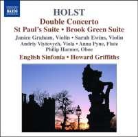 HOLST: Double Concerto, St Paul's Suite