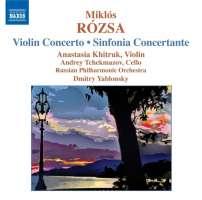 Rozsa: Violin Concerto, Sinfonia Concertante