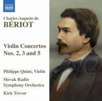BERIOT: Violin Concertos