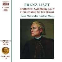Liszt – Beethoven: Symphony No. 9 ,Transcription for 2 pianos (Liszt Edition • 28)