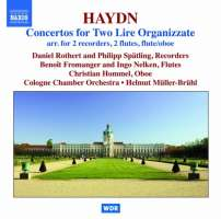 Haydn: Concertos for Two Lire Organizzate arr. for 2 recorders, 2 flutes, flute/oboe