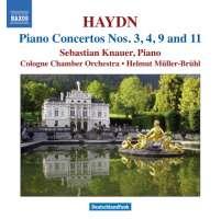 Haydn: Piano Concertos Nos. 3, 4, 9, 11