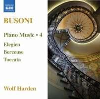 BUSONI: Piano Music Vol. 4