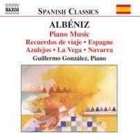 ALBÉNIZ: Piano Music, Vol. 2 - Recuerdos de viaje, Espagne, Azulejos, La Vega, Navarra