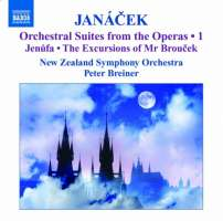 JANACEK: Orchestral Suites from the Operas Vol. 1 - Jenufa, The Excursions of Mr Broucek