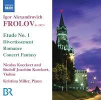 Frolov : Music for Violin & Piano