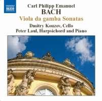 Bach, CPE: Viola da gamba Sonatas