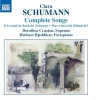 Schumann, C: Complete Songs, Ich stand in dunkeln Träumen,  Was weinst du Blümlein?