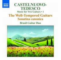 Castelnuovo-Tedesco, Mario : Music for Two Guitars Vol. 1 / 8.570778