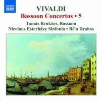Vivaldi: Bassoon Concertos Vol. 5