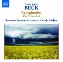 Beck: Symphonies Op. 3 Nos. 1-4