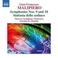 Malipiero: Symphonies Nos. 9 & 10, Sinfonia dello Zodiaco