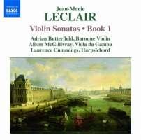 Leclair: Violin Sonatas Book 1, Nos. 1-4