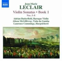 Leclair: Violin Sonatas Book 1, Nos. 5-8