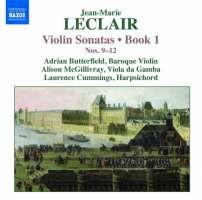 Leclair: Violin Sonatas - Book 1, Nos. 9–12