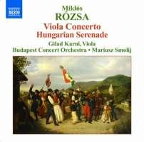 Rozsa: Viola Concerto, Hungarian Serenade