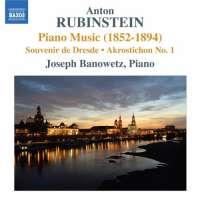 Rubinstein: Piano Music Vol. 2 - Souvenir de Dresde, Akrostichon No. 1