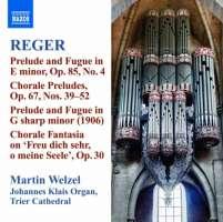 Reger: Organ Works Vol. 10