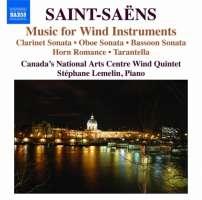 Saint-Saens: Music for Wind Instruments - Clarinet Sonata, Oboe Sonata, Bassoon Sonata, ...