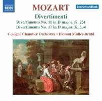 Mozart: Divertimenti Nos. 11 & 17