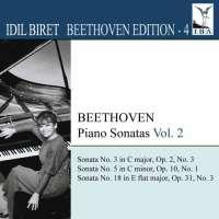IDIL BIRET BEETHOVEN EDITION 4 - Piano Sonatas Vol. 2 - Nos.3, 5 & 18
