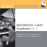 IDIL BIRET BEETHOVEN EDITION 9 - BEETHOVEN / LISZT: Symphonies 7 & 8