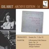 Prokofiev: Piano Sonata No. 7, Béla Bartók: Romanian Folk Dances, Suite Op. 14, Bulgarian Dances, Allegro