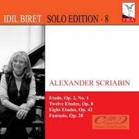 Scriabin: Etudes Op. 28 & 42 Fantasie Op. 28