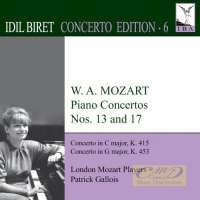 Biret Concerto Edition 6 - Mozart: Piano Concertos Nos. 13 & 17