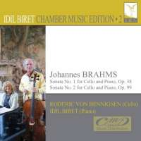 Brahms: Sonatas Nos. 1 & 2 for Cello and Piano