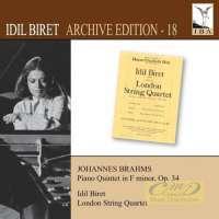 Brahms: Piano Quintet in F minor Op. 34