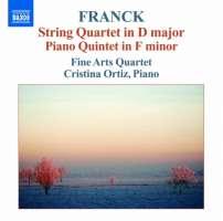 Franck: String Quartet, Piano Quintet