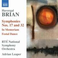 Havergal: Symphonies Nos. 17 & 32, In Memoriam, Festal Dance