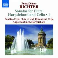 Richter: Sonatas for Flute, Harpsichord and Cello Vol. 1 - Sonate da camera Nos. 1–3