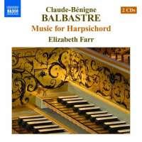 BALBASTRE: Music for harpsichord