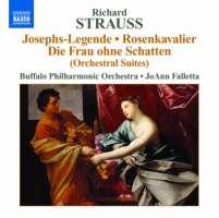 Strauss: Josephs-Legende, Der Rosenkavalier, Die Frau ohne Schatten - Orchestral Suites