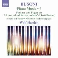 Busoni: Piano Music Vol. 6