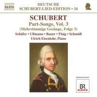 Deutsche Schubert-Lied-Edition 34 – Part-Songs (pieśni wielogłosowe) Vol. 3