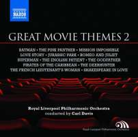 Great Movie Themes 2 - Batman, The Pink Panther, Mission Impossible, Love Story, Jurassic Park, Superman, The English Patient, The Godfather