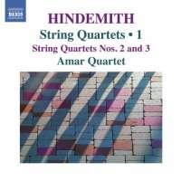 Hindemith: String Quartets • 1 - Nos. 2 & 3